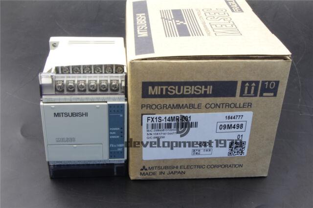 1PCS Mitsubishi FX1S-14MR-001 PLC Module New In Box