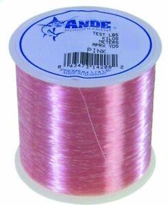 Ande-Premium-Pink-Monofilament-Fishing-Line-1-4-lb-Spool-12-lb-Test-1000-Yards