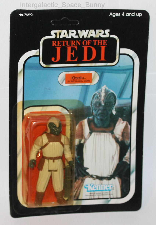 2018 Kenner Star Wars Regreso del Jedi Klaatu bote cardada acción figura menta en tarjeta