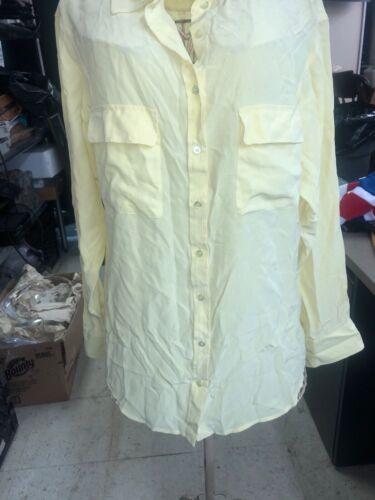 EQUIPMENT FEMME - Signature Blouse Shirt in Grey M