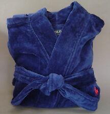 Kimono Sm Cotton Navy Ralph Lauren Plush Men 31797 Terry Robe wkn80OP