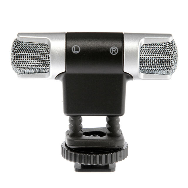 Boya By Mm3 Stereo Condenser Microphone For Dslr Camera Camcorder