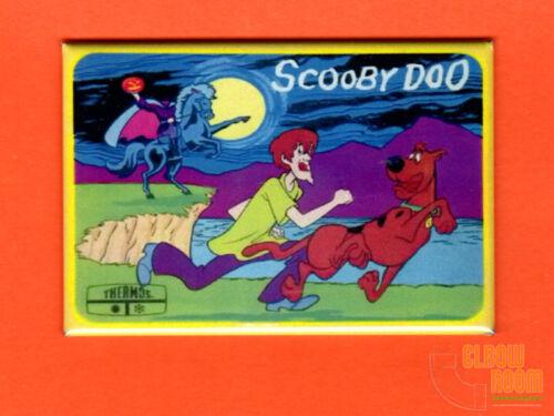 "Thermos Scooby Doo 2x3/"" fridge//locker magnet lunch box art"
