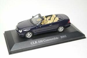 Mercedes-Benz-CLK-350-Cabrio-2005-ano-ALTAYA-1-43-escala-Diecast-Modelo-de-Coche