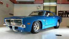 G LGB 1:24 Scala Dodge Charger R/T 1969 Maisto Automodello Metallo 31256
