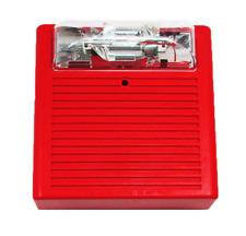 Wheelock Cooper Red Ceiling Mount Audible Strobe As 24mcc Fr
