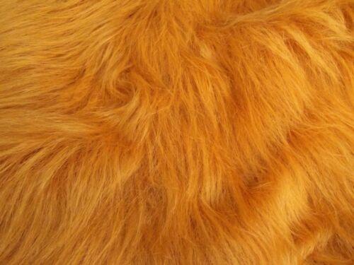 """Pet Beds 58/"""" LARGE Mtex MT931 Plain fourrure synthétique 75 mm Long Pile idéal pour vêtements"""