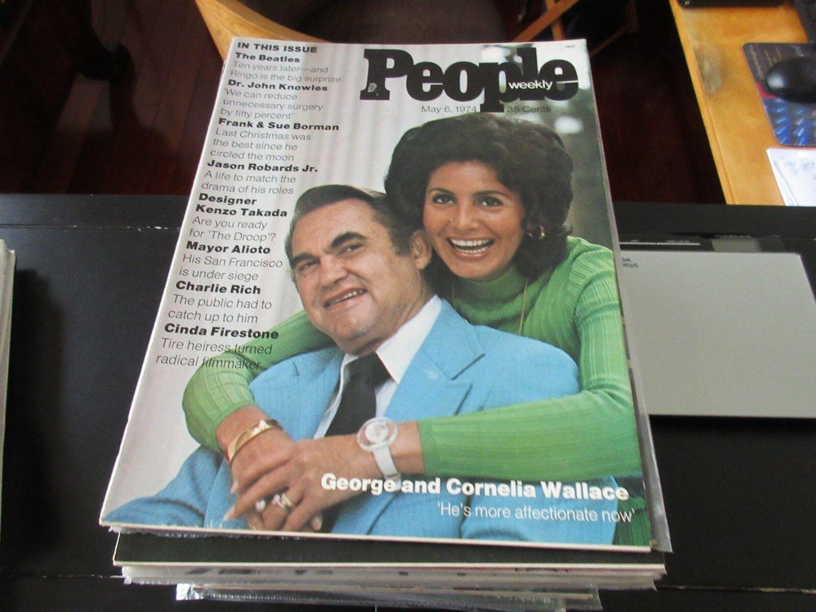 George & Cornelia Wallace , People Weekly , 5/6/74,The