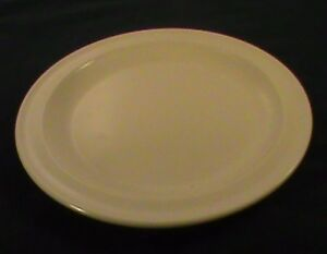 Image is loading Pale-Yellow-Prolon-Melmac-Melamine-Plastic-Plates -Cafeteria- & Pale Yellow Prolon Melmac Melamine Plastic Plates Cafeteria 8 Inch ...