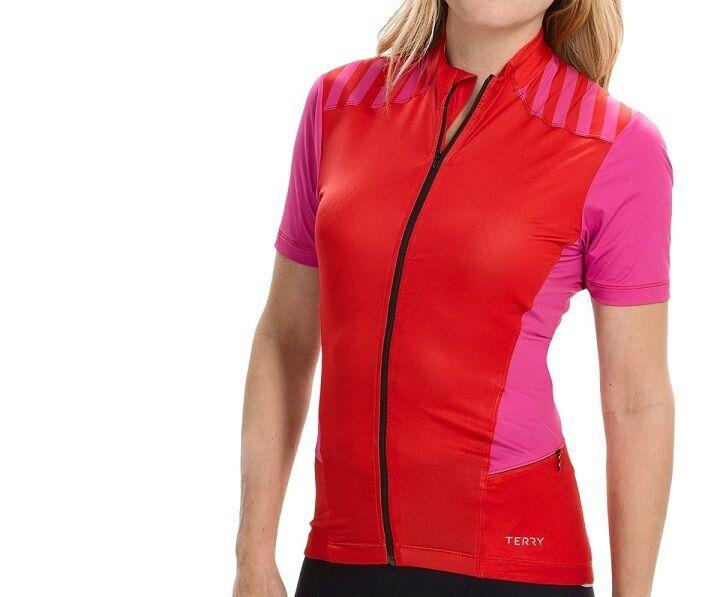 TERRY ECHELON para Ciclismo Jersey Nuevo Con Etiquetas Para Mujer Pequeña