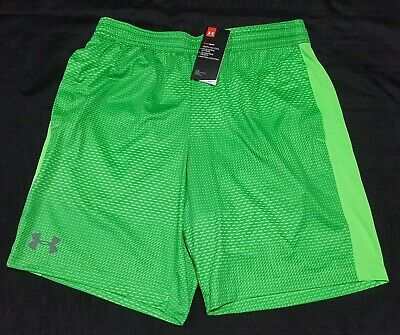 Under Armour MEN/'S Athletic Basketball Shorts Loose Red 1294479 Size L