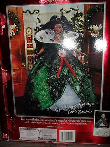 Una Muñeca Barbie Christie Édition spéciale Joyeuses fêtes Mattel Nrfb