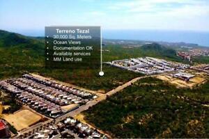 Terreno para Desarrollar en El Tezal de Cabo San Lucas con Vista al Mar y a El Arco