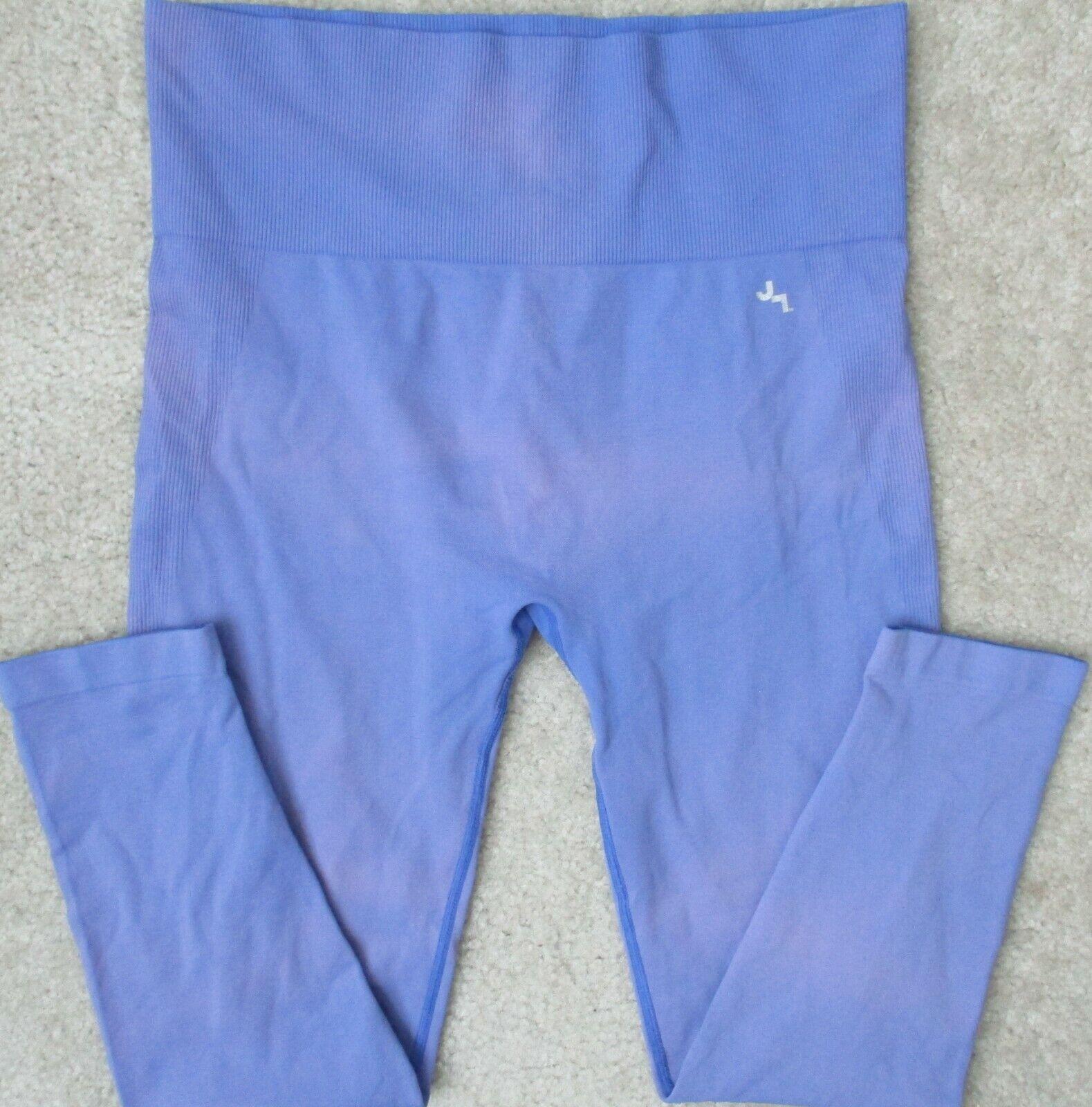 Joy Lab Womens L Tie Dye Stretch 97% Nylon Fitness Yoga Gym 3/4 Capris Leggings