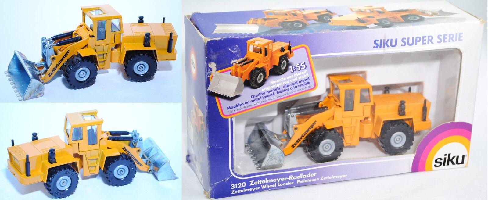 Siku Super 3120 Zettelmeyer-Radlader ZL 4002, ca. 1 55