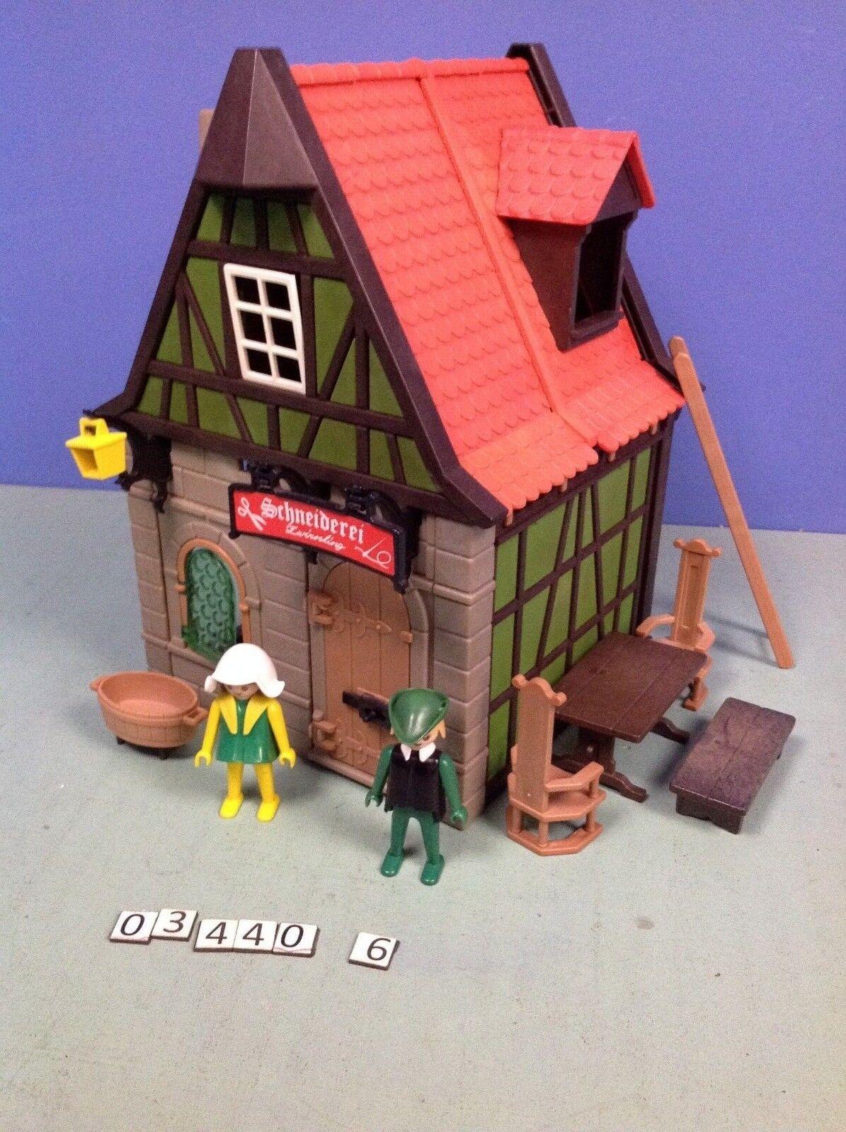 (O3440.6)  playmobil Maison Médiévale verdee le Dimensioneur ref 3440 3666  presentando tutte le ultime tendenze della moda