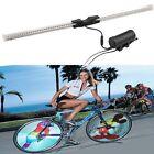 64 LED Cycling Bicycle Bike DIY Spoke Wheel Light Colorful Double-Side Display
