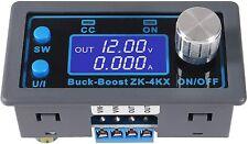 Zk 4kx Cnc Dc Dc Buck Boost Converter Cc Cv 05 30v 4a Power Module Adjustable