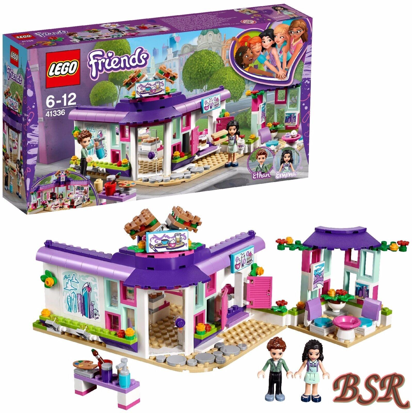 Friends 41336 0Expédition Nouveau Emmas Künstlercaféamp; ® Lego oQdCErBxWe
