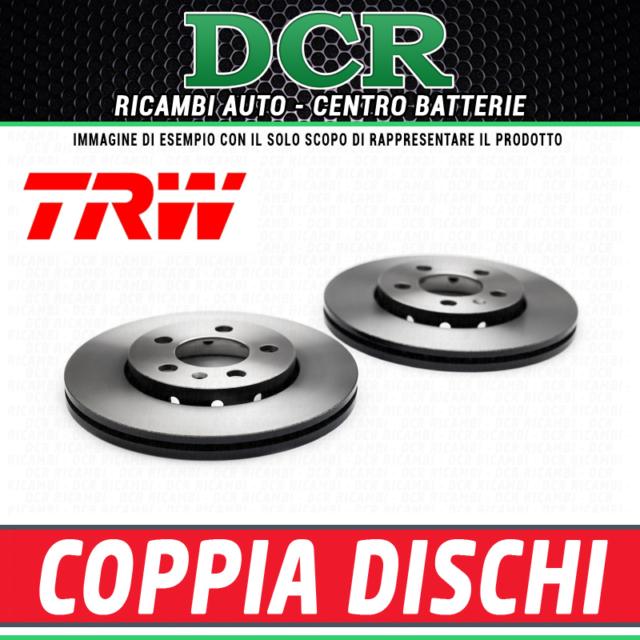 New Fiat Grande Punto 199 1.9 D Multijet Genuine Mintex Rear Brake Discs Pair x2