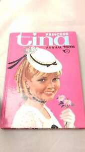 Princess-Tina-Annual-1975-by-Unknown-Hardcover-1974-01-01-Good
