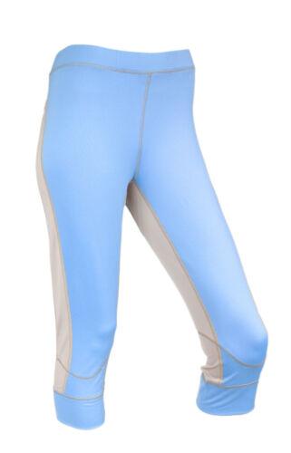NEW Peak Performance Womens Blue Base Layer Short John Sports Outdoors RRP £45