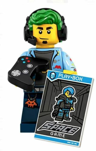 Lego Minifigure Series 19 Video Game Competition Champion Gamer Guy 71025