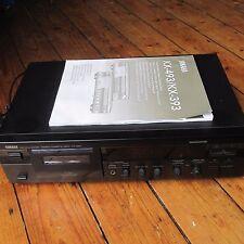 YAMAHA KX-393 Hi-Fi Cassette Deck DOLBY B C KX PRO PLAY Trim W manuale in buonissima condizione