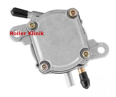 Unterdruck Benzinpumpe mit 6 mm Anschlüssen z.B. SYM und China Roller Honda