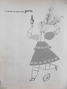 publicite-de-presse-PERRIER-par-Daransart-en-1963-ref-20916