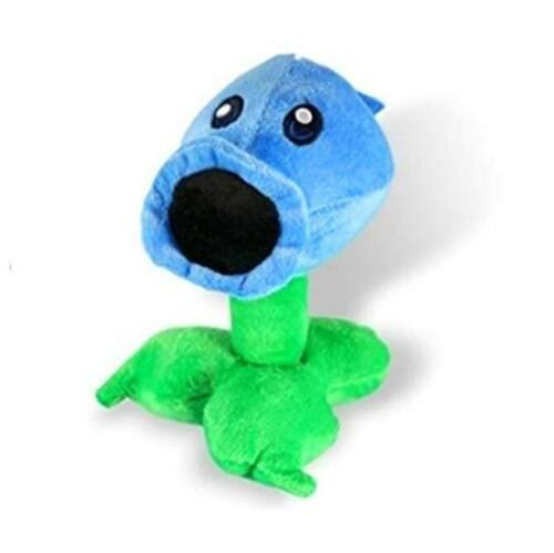 Plants Vs Zombies Plush Toy Ice Peashooter 17cmTall Multicoloured,