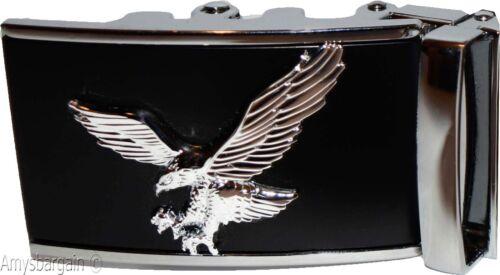 Automatic sliding belt buckle Men's belt Buckle landing eagle Belt buckle only
