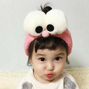 Big Eyes Plush Hair Band Headband Elastic Head Wrap Hair Band For ... 9d7c1c4d1de