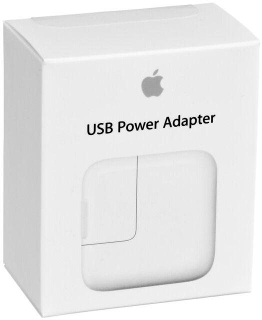 CARICABATTERIA DA RETE ORIGINALE APPLE MD836ZM/A A1401 USB 2,4A 12W IPHONE IPAD