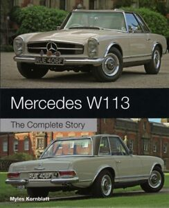 Mercedes-W113-Complete-Story-230-250-280-SL-Pagode-Pagoda-Buch-book-W-113-Benz