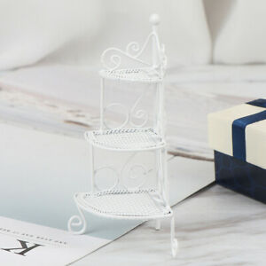 1Pc-1-12-Dollhouse-miniature-white-metal-flower-rack-doll-house-accessorie-yb