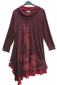 44 Mouette Tunika Traumhaft La Vestido Kleid Lagenlook Robe L Dress 46 Tunic qU1napwnA