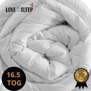 Soft Duvet 16.5 / 18 Tog Anti Allergy - Extreme Winter Warm Quilt