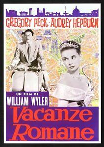 Plakat-Vermietungen-Romane-Audrey-Hepburn-Gregory-Peck-Piaggio-Vespa-Wyler-E13