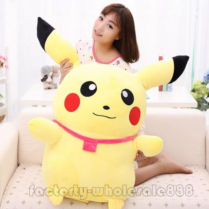Süß 13.5-44  riesengroßen cartoon gehen pikachu weichen große plüsch spielzeug puppe kind geschenk