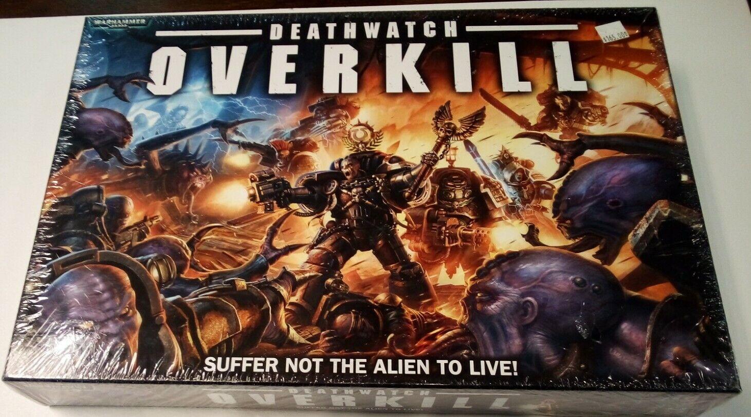 GAMES WORKSHOP - WARHAMMER 40K   Deathregarder Overkill - Seal NIB  nouveau style
