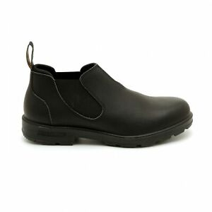 Details about NEW Blundstone Style 1611 Black Leather Slip On Boots/Shoes  For Men
