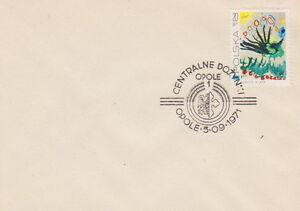Poland postmark OPOLE - harvest festival - Bystra Slaska, Polska - Poland postmark OPOLE - harvest festival - Bystra Slaska, Polska