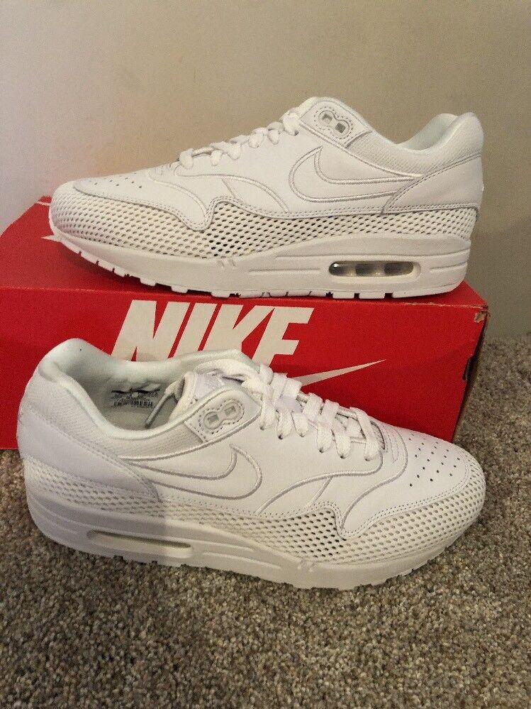 Nike air max 1 e w white & grande grey grey grey ao2366 100 sz 10,5 9f142b