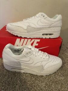 on sale fcac3 9cdc9 Image is loading NIKE-AIR-MAX-1-SI-W-WHITE-amp-