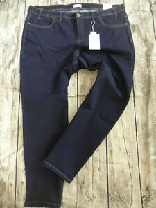 Sheego-Women-039-s-Trousers-Jeans-Size-44-to-58-Blue-Large-Sizes-Dark-Blue-319-New