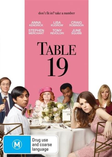 1 of 1 - Table 19 (DVD, 2017) NEW