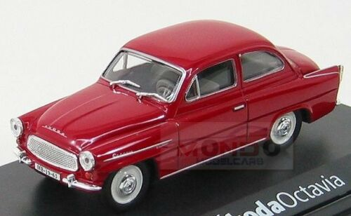 Skoda Octavia 3-Doors 1964 Red Abrex 1:43 ABS704BB