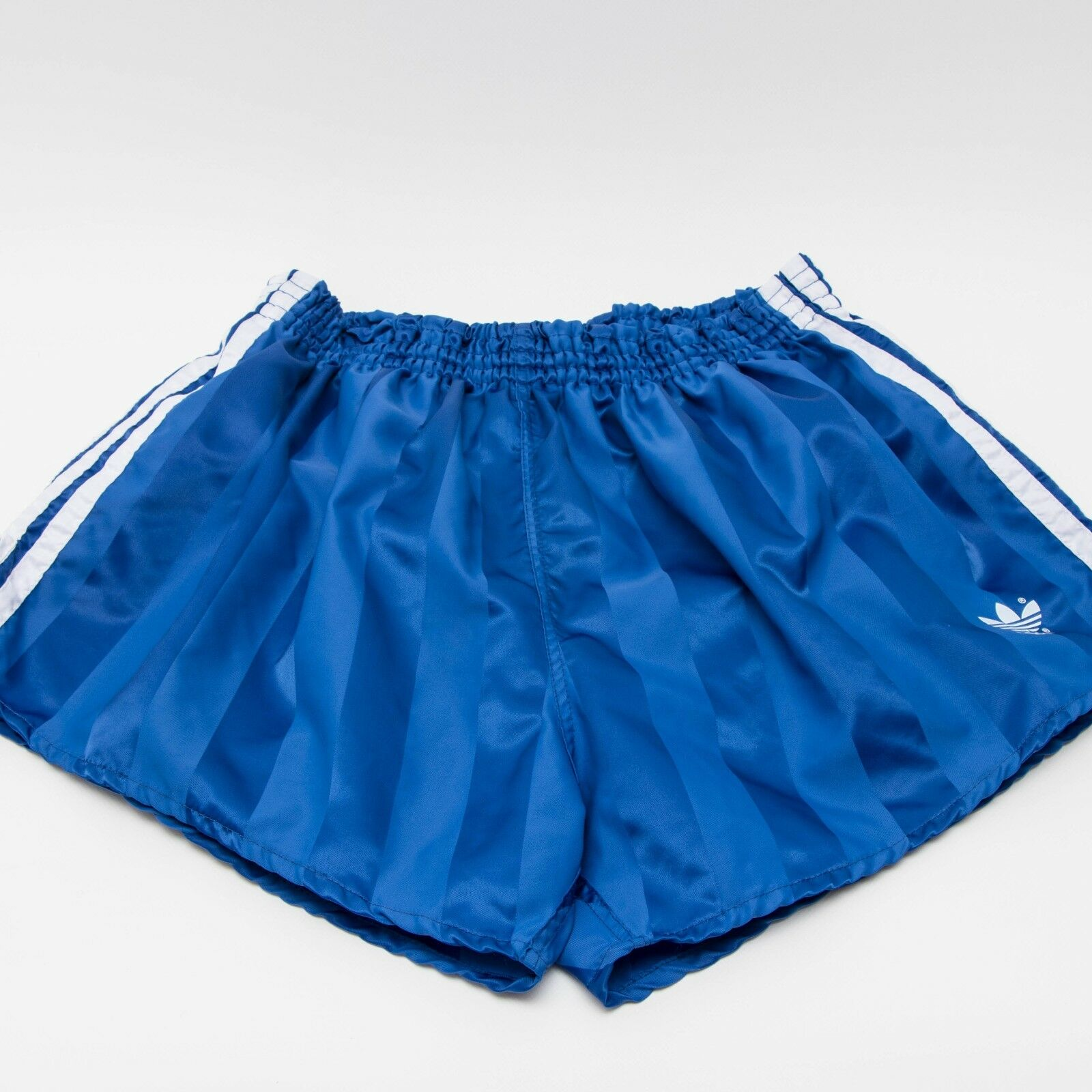 ADIDAS Glanz Nylon Vintage Shorts - Made in W.Germany - blau  Gr. D7 (1431)  | Fuxin