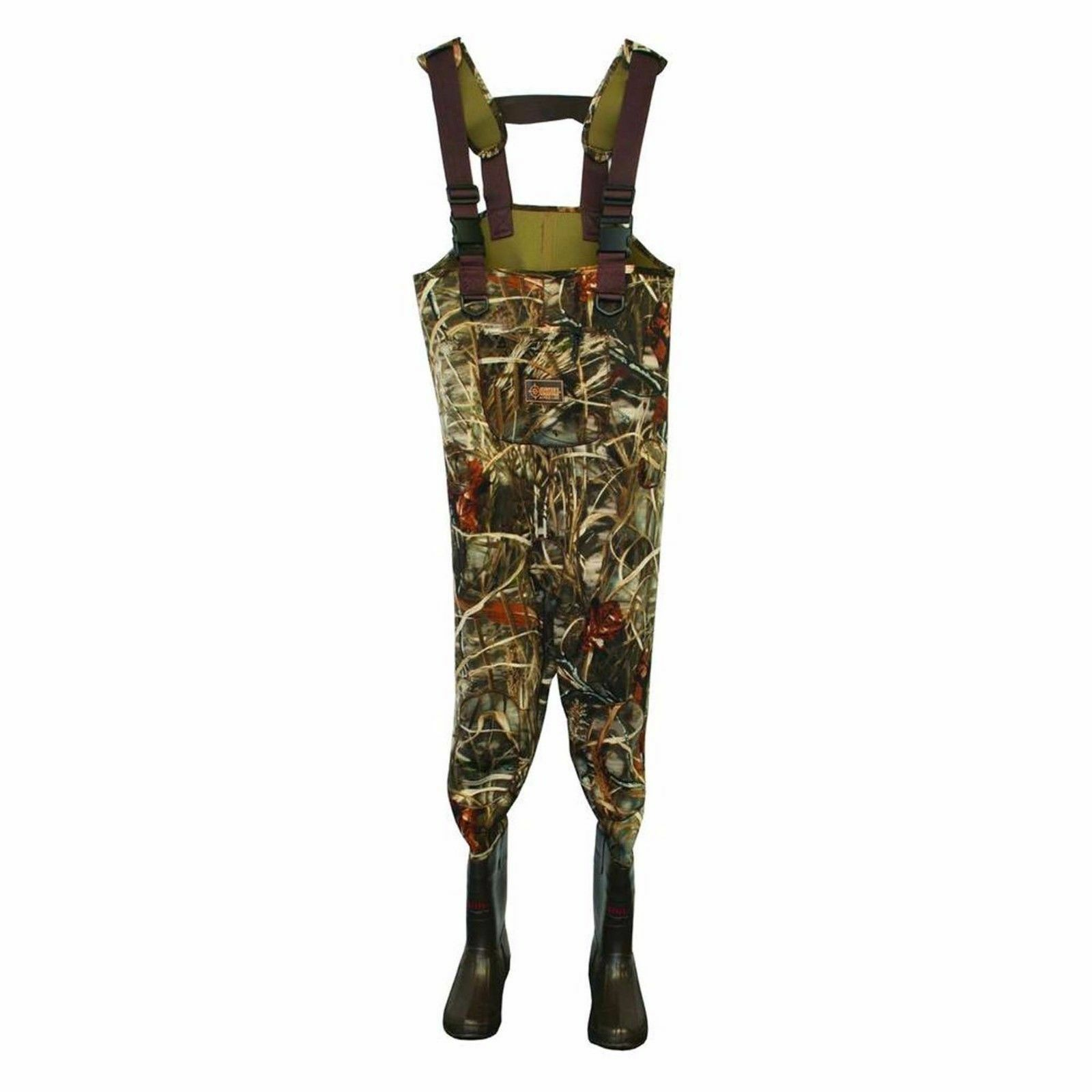 Hunters Advantage HA92104MX4-8 3.5mm Cleated Waders Max-4 Camo 400GR Thinsulate